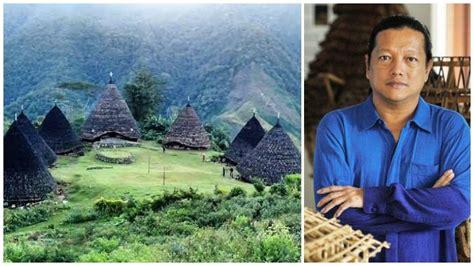 arsitek ternama indonesia  bangun kembali rumah adat