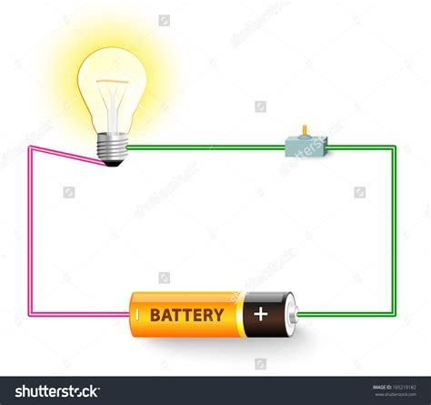simple electric circuit wiring diagram components