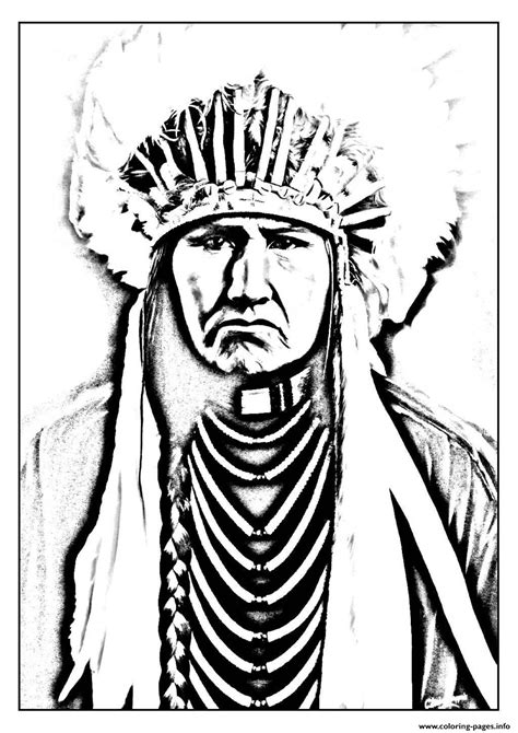 coloring pages  indians american coloring home