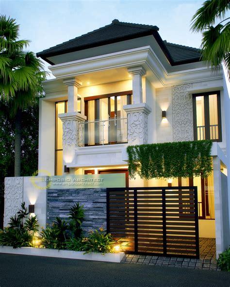 desain rumah mewah modern  lantai  blog desain rumah