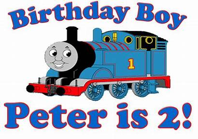 Thomas Train Birthday Clipart Background Clip Boy