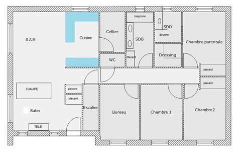 plan de maison plain pied 3 chambres avec garage plain pied 106m sur sous sol de 115m 23 messages