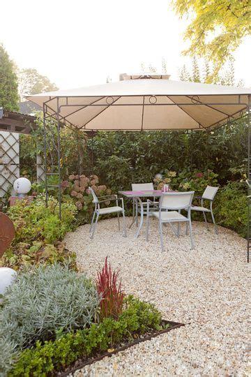 Terrasse Kies Körnung by Kies Terrasse Jardineras Patio Garden Und Outdoor
