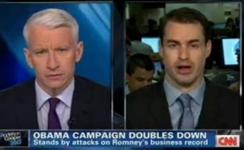 Anderson Cooper Goes Cory Booker on Obama Campaign Spokesman