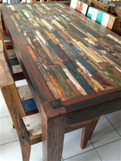 Table Et Chaises En Palettes Recyclées Wood Pixodium Créatif Meubles And Coins On