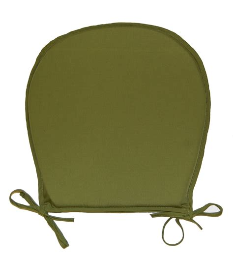 chair seat pads plain kitchen garden furniture
