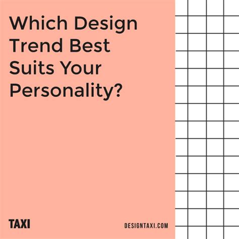 quiz which design trend best suits your personality designtaxi com