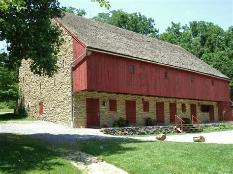 Barn Pa by Rock Ford Plantation Lancaster Pa
