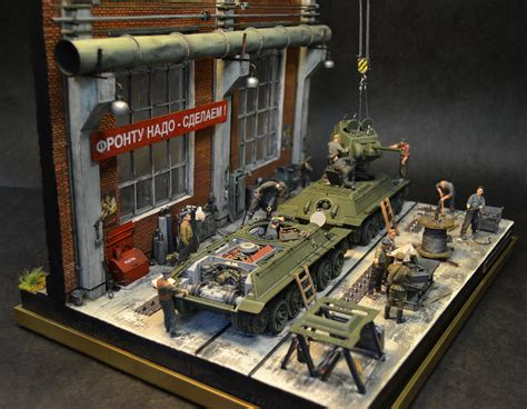 1 35 Scale Military Model Dioramas