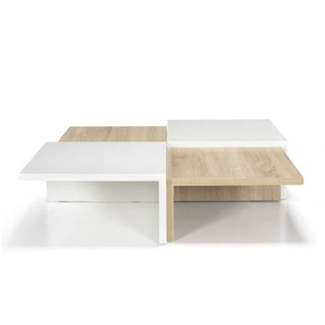 canapé vente flash alinéa checker table basse carrée de style scandinave