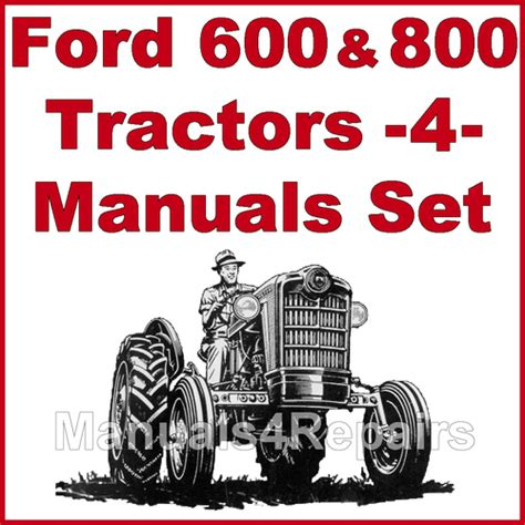 ford   tractor service parts catalog owners manual