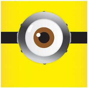 Book of helios personal work minion vision despicable me for Minion eyes template