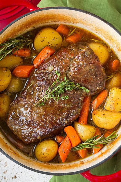 how to cook pot roast classic pot roast with potatoes and carrots cooking classy