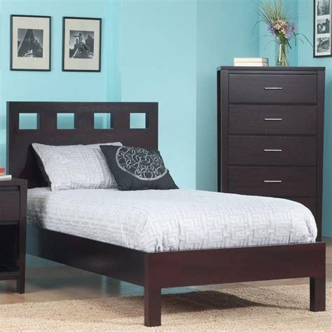 Modus Platform Bed modus furniture nevis riva modern low profile platform bed