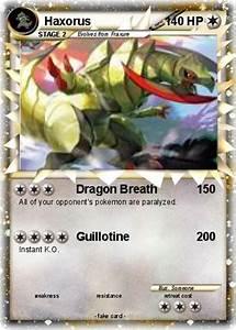 Haxorus Pokemon Card Ex Images | Pokemon Images