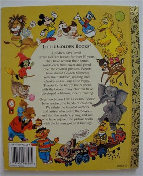 Image Little Golden Book Back Cover 2 Disney Wiki