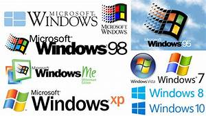 Microsoft Windows Logo History Pictures to Pin on ...
