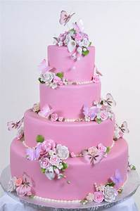 beautiful white and pink wedding cakes (1) | Weddings Eve