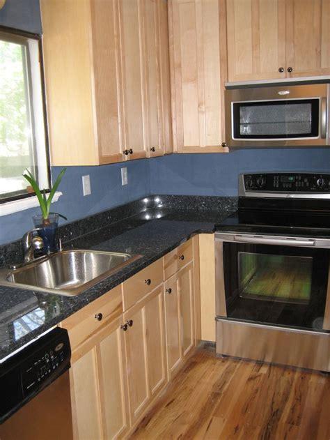 blue countertop kitchen ideas blue pearl granite kitchen ideas for the home