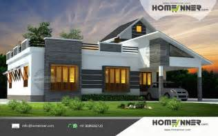 small farm house plans 1676 sqft 3 bhk single floor low cost kerala home design