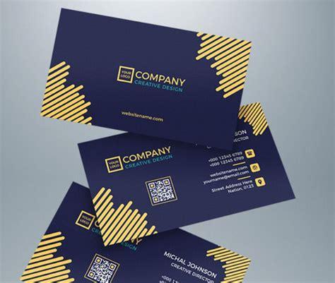 floating business card template  illustrator titanui