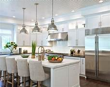 Beautiful Pendant Lights For Kitchen Island On2go Your Kitchen Breakfast Bar Lighting Kitchen Breakfast Bar Lighting Kitchen Featuring Trio Fo Modern Glass Pendants Over Breakfast Bar Square Pendant Light Kitchen Modern With Bar Sink Beige Countertop