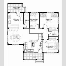 Small House Designs Series  Shd2014006v2  Pinoy Eplans