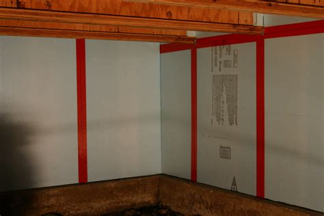 Rigid Foam Insulation Between Studs Basement Spray In