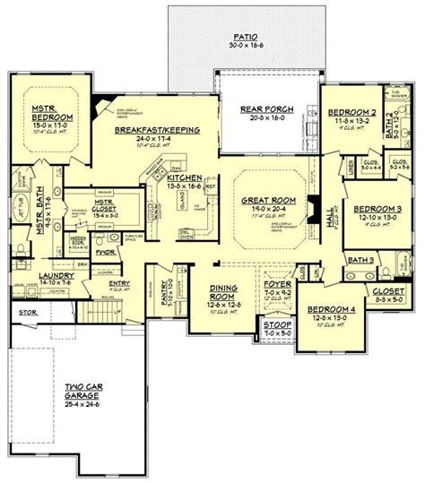 Split Bedroom Plan by Split Bedroom Plan