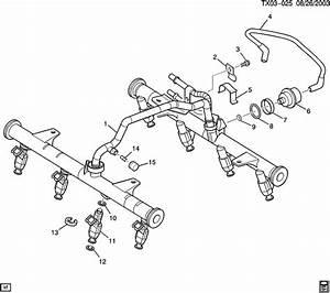 Chevrolet Silverado Rail  Fuel Injection  Rail  M  Port F