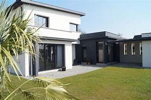 maison toit plat moderne trendy de de maison moderne avec With ordinary photo maison toit plat 9 en pierre moderne toit plat tendance
