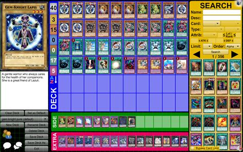 Gem Deck Plan 4 by Gem Knights January 2015 Tcg Ocg Pojo Forums