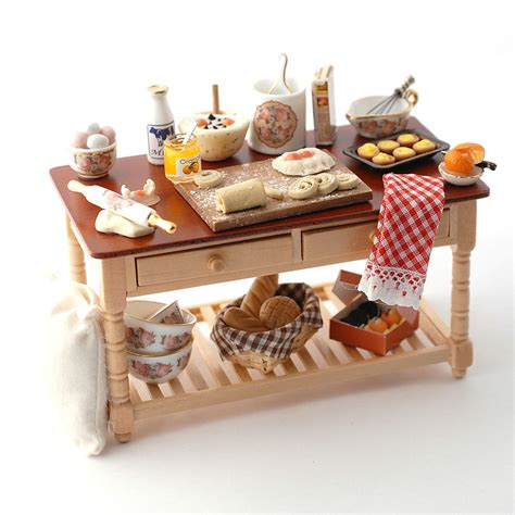 rp baking table  dolls house superstore