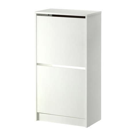 Bissa Shoe Cabinet Dimensions bissa shoe cabinet with 2 compartments white ikea