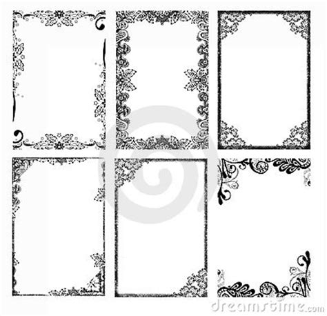 bohemian frames stock photography image