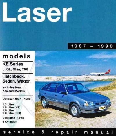 motor auto repair manual 1989 ford laser electronic throttle control ford laser ke 1 3 1 6 efi 1987 1990 gregorys service repair manual sagin workshop car manuals