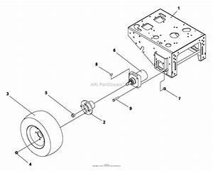Bunton  Bobcat  Ryan 930322a Power Unit 15hp Kawasaki Hydro Parts Diagram For Drive Wheels