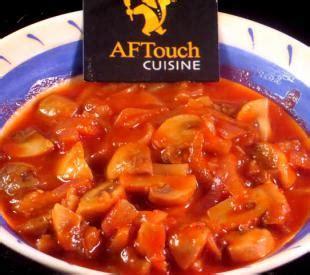 aftouch cuisine style mushrooms recipe style mushrooms