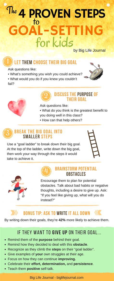 steps  helping  child set effective goals