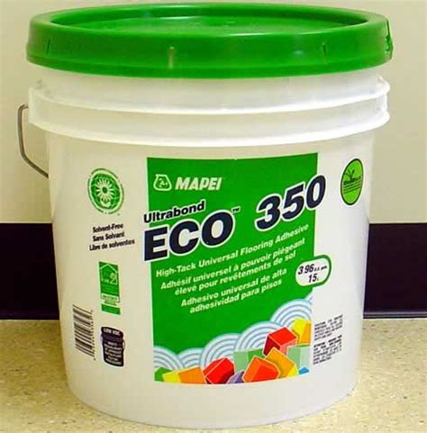 Mapei's Ultrabond ECO? 350 high tack commercial vinyl
