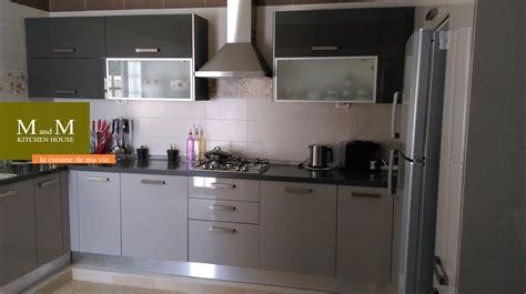 meuble cuisine cagne cuisine grise et grége meubles et décoration tunisie