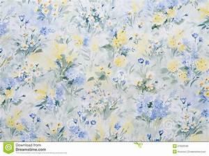 Papier Peint Fleuri : papier peint fleuri photo stock image du d coration ~ Premium-room.com Idées de Décoration