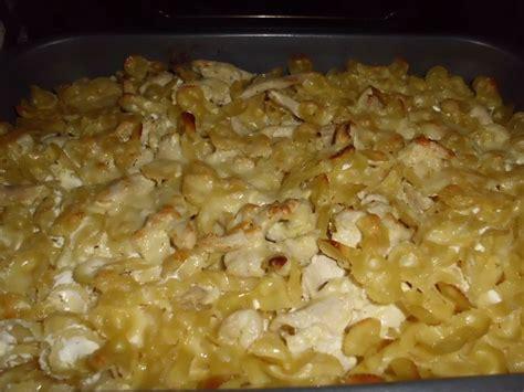 gratin de p 226 tes au poulet les exp 233 riences culinaires de chau7