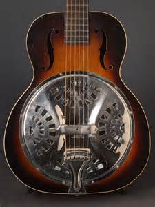 Vintage Regal Dobro Resonator Guitar