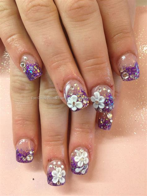 pictures of nail designs 50 easy flower nail and designs golfian