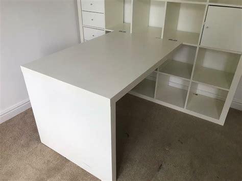 Kallax Schreibtisch Ikea by Ikea White Kallax Desk In Sutton Coldfield West
