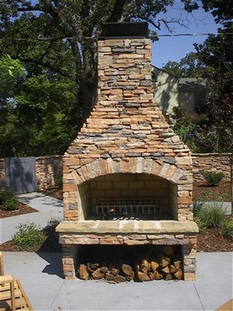 Wish This Outdoor Fireplace Was In My Kitchen Gardens