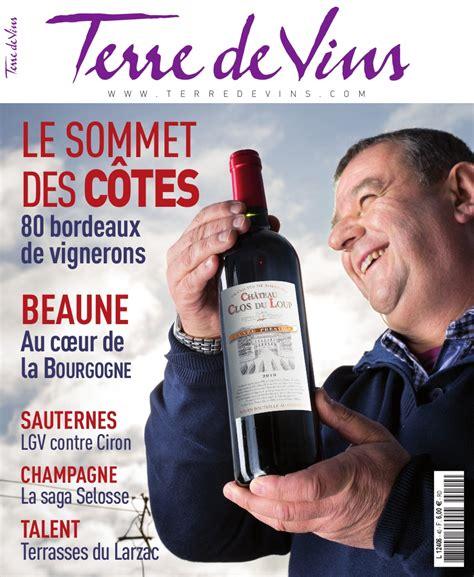 magazine quot terre de vins quot n 176 40 terre de vins