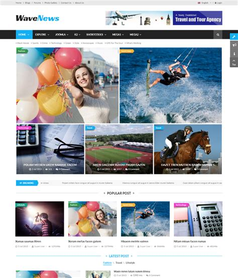 templates free download joomla 3 7 top 10 awesome free premium news magazine joomla 3 7