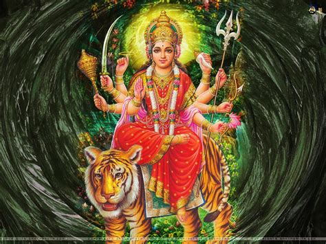 3d Wallpaper God Durga by Hindu Gods Goddesses Hd Wallpapers Images